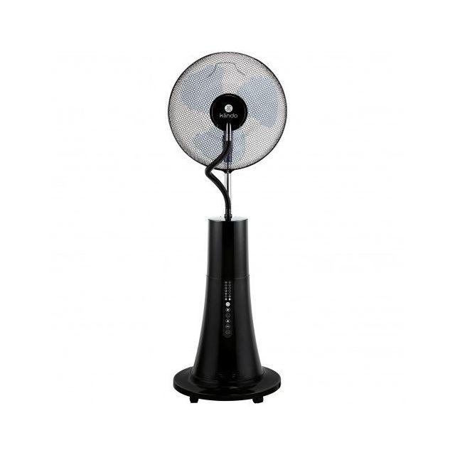KLINDO Ventilateur humidificateur brume d'eau sur pied - KMF400-19 - Noir