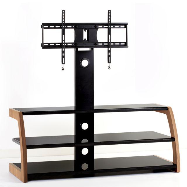 meuble tv colonne - achat meuble tv colonne pas cher - rue du commerce - Meuble Tv Colonne Design