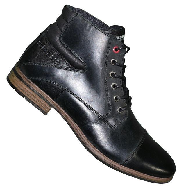 4bfa82ffee5 Redskins - En Solde - Redskins - Chaussures Montantes Boots - Homme - Caps  - Noir