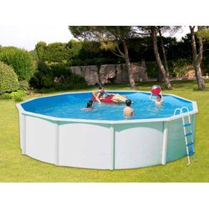 Toi vigipiscine kit piscine hors sol acier canarias for Vigipiscine