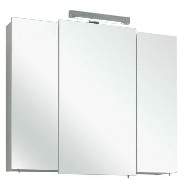 armoire toilette 3 portes miroir - achat armoire toilette 3 portes