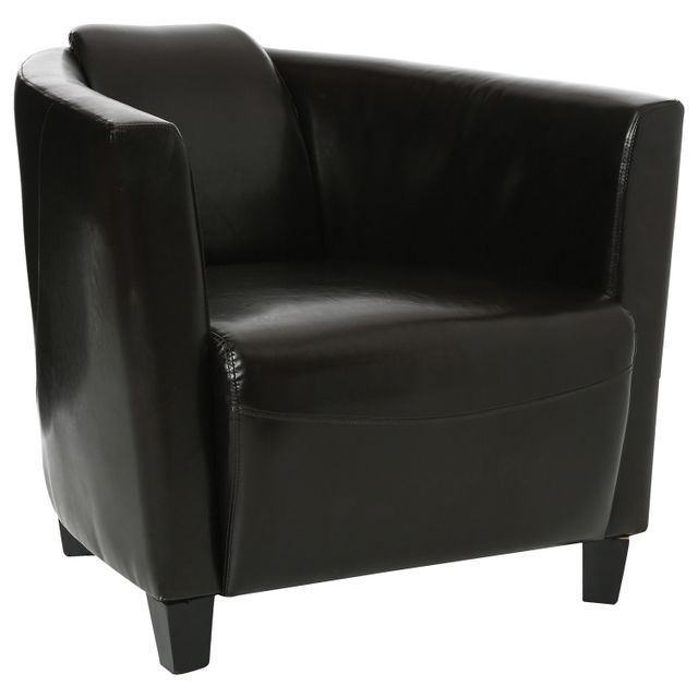 Atmosphera Fauteuil Club - Marron