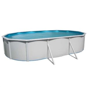 piscine acier ovale 640x366x120cm
