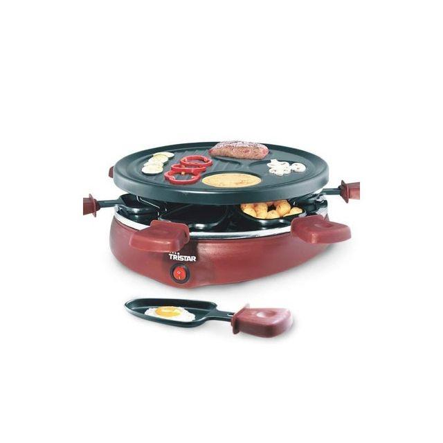 Tristar Raclette Gourmet avec 6 Coupelles Ra2991