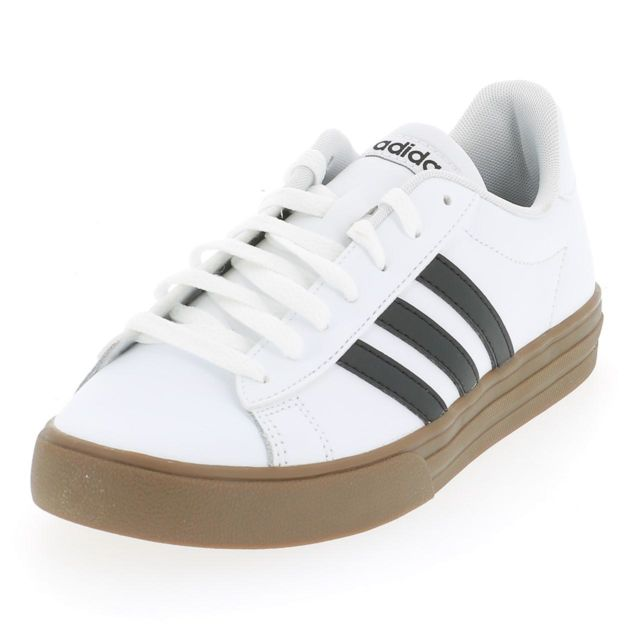 Adidas Chaussures mode ville Daily blc nr crepe Blanc