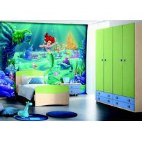 Bebegavroche - Papier peint Xxl Ariel La Petite Sirène Princesse Disney 360X255 Cm