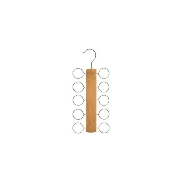 80426a5493ae Cintre pour foulards - 13,5 x 1,1 x 30 cm - Bois - pas cher Achat ...