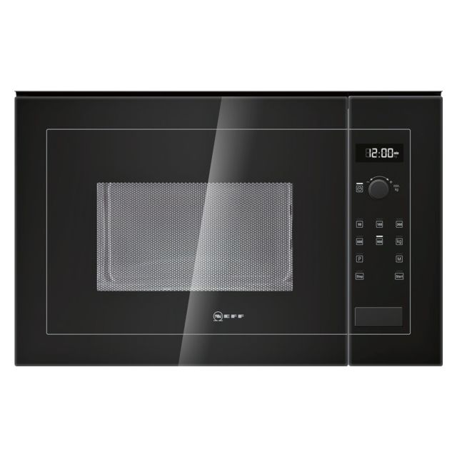 NEFF micro-ondes encastrable 25l 900w noir - h12we60s0
