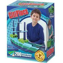 Citi Blocs - 0BCTBSC200 - Blocs De Construction Aux Couleurs Cool - 200 PiÈCES