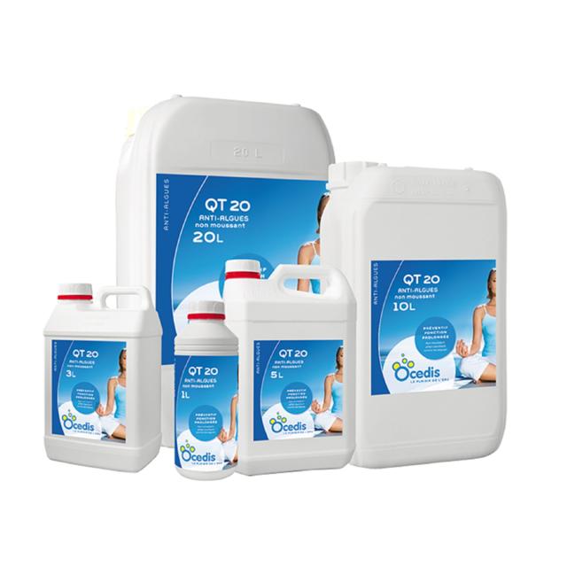 Ocedis - Anti Algue Qt 20 Préventif - Bidon de - 5 L