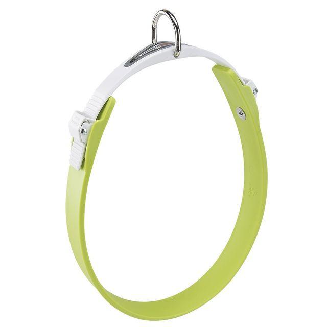 Ferplast Collier Ergoflex C vert à micro-régulation pour chien Longueur 22 cm / Largeur 15 mm