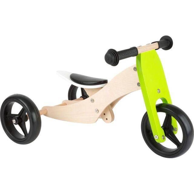 Small Foot Tricycle-Draisienne en bois Trike 2 en 1 - 11255