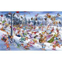 Piatnik - Puzzle 1000 pièces - Ruyer : Ski de Noël