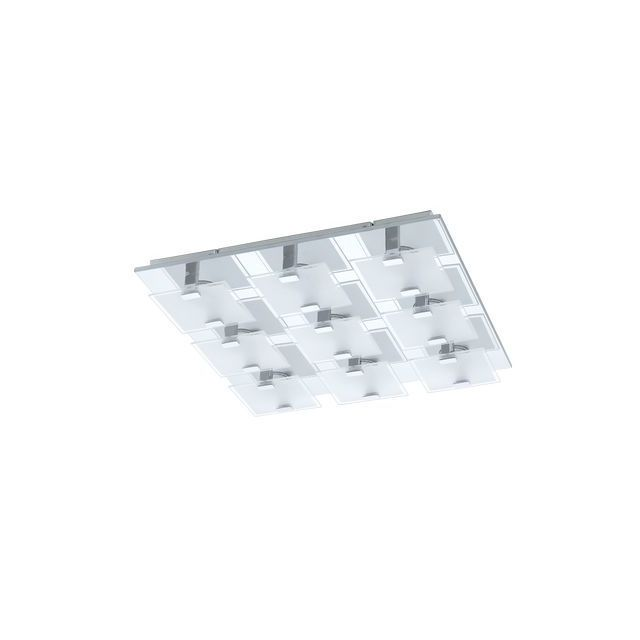 Eglo Plafonnier Vicaro 9X2,5W Chrome - Lighting - 93315
