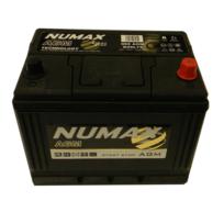12V 60Ah 660 Amps Numax Premium 75-550 Batterie Voitures En