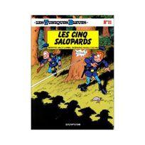 Générique - LesTuniquesbleues, tome21: Lescinqsalopards