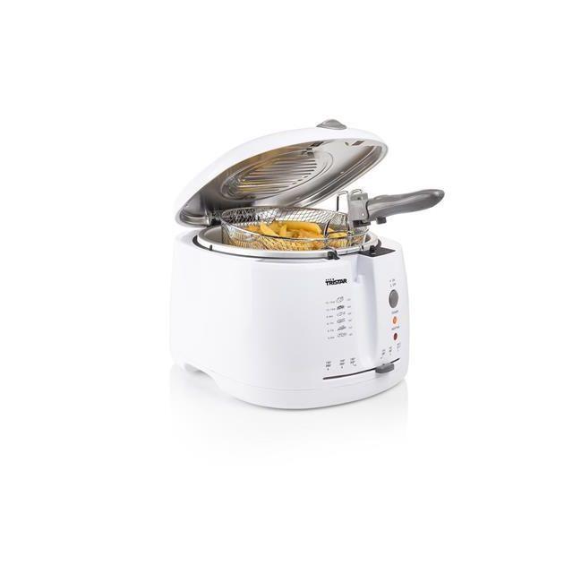 Tristar friteuse de 2,5L 1600W blanc
