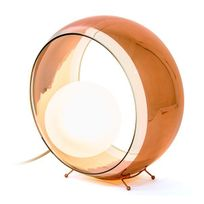 Concept Verre - Lampe à Poser Design Okio Cuivrée