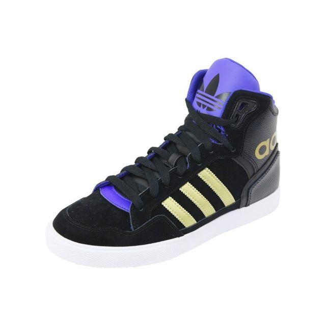 e0de6e976cefa Adidas - EXTABALL W SUE - Chaussures Femme Noir 36 2/3 - pas cher Achat /  Vente Baskets homme - RueDuCommerce
