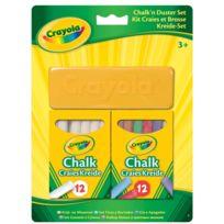 Crayola - Kit craies et brosse