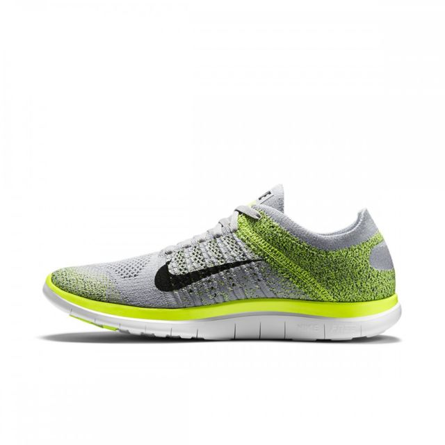promo code 29365 8aafc Nike - Basket Free 4.0 Flyknit - Ref. 631053-012 Gris - 42 1/2 - pas ...