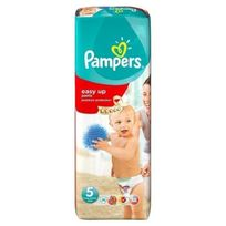 Pampers - Couches Easy Up Taille 5 - De 12 a 18Kg - 38 couches - Format Géant