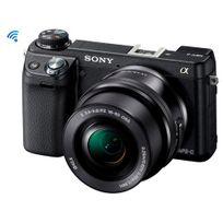 Appareil photo a6000 de type E avec capteur APS-C + Objectif 16-50mm