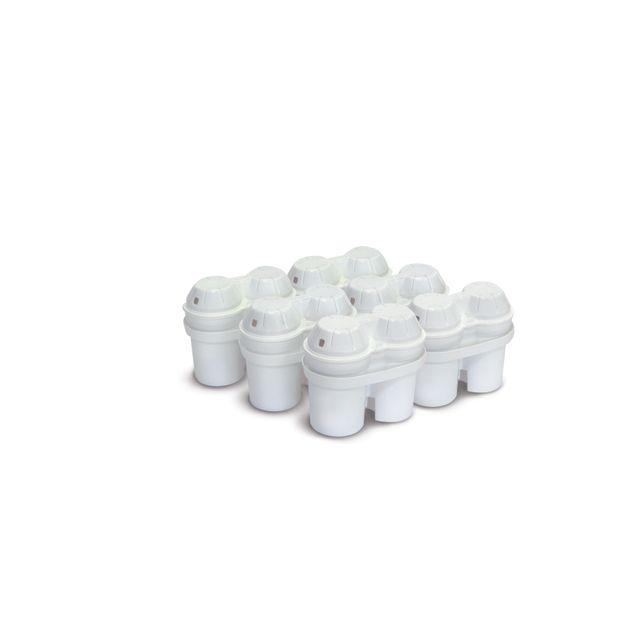 CARREFOUR Cartouches filtrantes ovales - HCO506-15 - Blanc