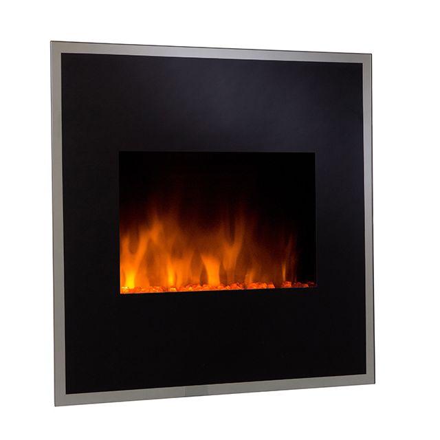 chemin 39 arte chemin e lectrique 1800w noir black river. Black Bedroom Furniture Sets. Home Design Ideas