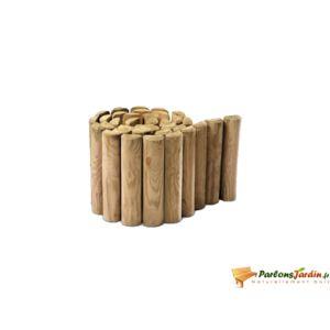 Jardipolys - Bordure de jardin en bois à dérouler traité classe Iv ...