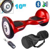 Hoverboard 10 pouces skate électrique Gyropode 36V Fire