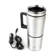 All Ride - Tasse Mug Electrique Inox Allume Cigare 12V Bouilloire
