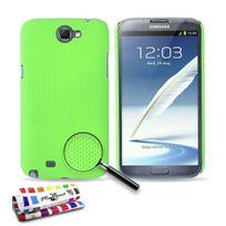 """Muzzano - Coque Rigide Ultra-Slim """"Le Pika"""" Premium Vert pour Samsung Galaxy Note 2 / N7100"""