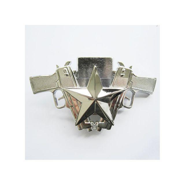 38e82e70a48e Universel - boucle de ceinture étoile et pistolet + briquet brillant ...