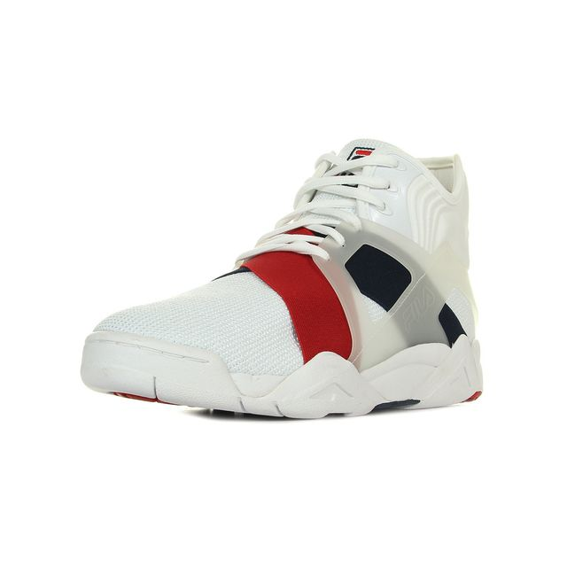 The cage 17 White Navy Red