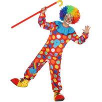 Atosa - Déguisement Petit Prince des Clowns - Enfant