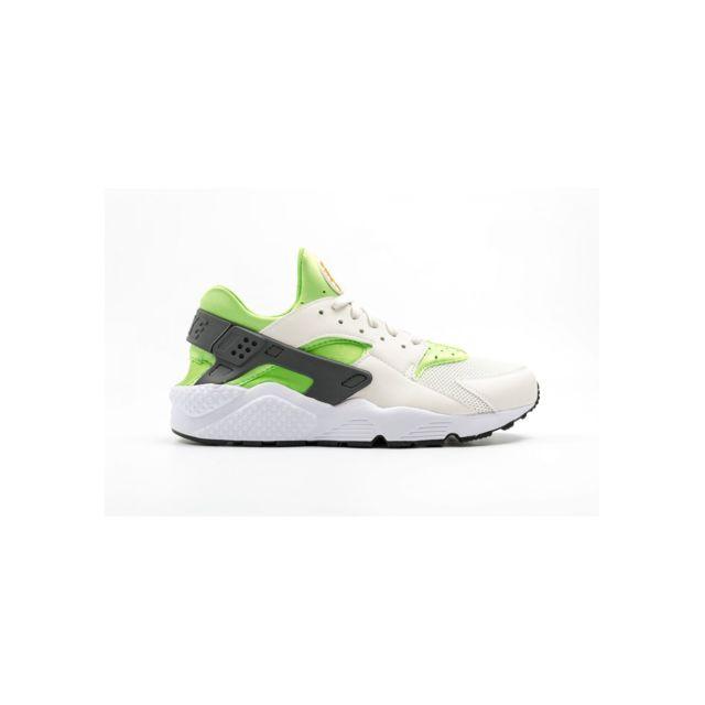premium selection 07af8 717cf Nike - Air Huarache - 318429-304 - Age - Adulte, Couleur - Blanc, Genre -  Homme, Taille - 45,5 - pas cher Achat   Vente Baskets homme - RueDuCommerce