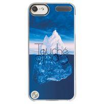 Kabiloo - Coque rigide transparente pour Apple iPod Touch 5 avec impression Motifs Touché Coulé