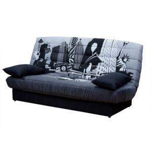 alin a lana housse pour clic clac en coton imprim new. Black Bedroom Furniture Sets. Home Design Ideas
