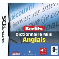 Sega - Berlitz mini dictionnaire Anglais pour Ds