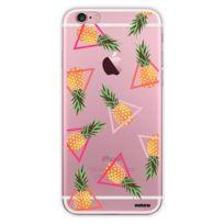 Evetane - Coque transparente Ananas pour iPhone 6/6S