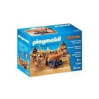 PLAYMOBIL - Soldats du pharaon avec baliste - 5388