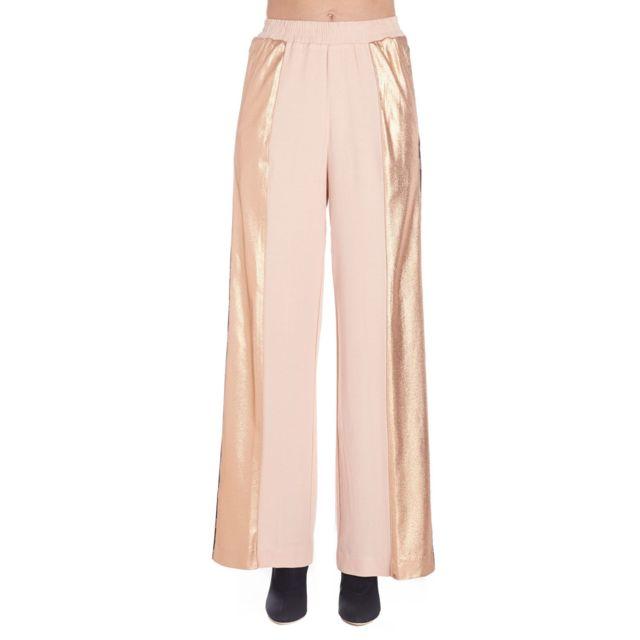 Nude Femme 1103504134 Rose Viscose Pantalon