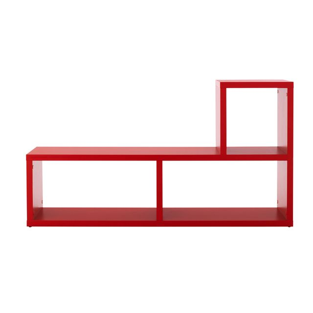 Kit A Faire Etagère puzzle 3 cases rouge