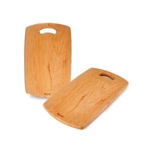 Ibili - Planche A Decouper Bois Cerisier 38 X 2 1