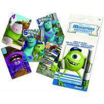 Fournier - Jeu De Cartes Pour Enfant - Monster University Disney - Sous Blister