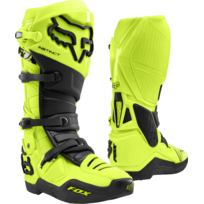 Fox Bottes Moto Cross Instinct Gray Black 45 pas cher