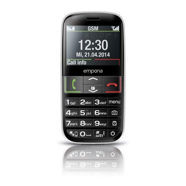 EMPORIA Téléphone Euphoria V50 - Noir