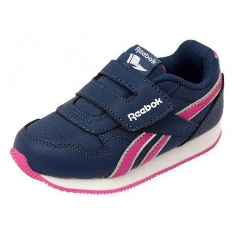 Reebok - Royal Cl Jogger Kc Bb Mar - Chaussures Bébé Fille - pas cher Achat    Vente Baskets enfant - RueDuCommerce cb8dff310535