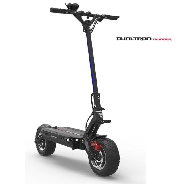 minimotors trottinette patinette lectrique adulte dualtron thunder 100 km autonomie 85 km h. Black Bedroom Furniture Sets. Home Design Ideas